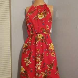💟CUTE FLORAL SUMMER DRESS SIZE 0 XSMALL